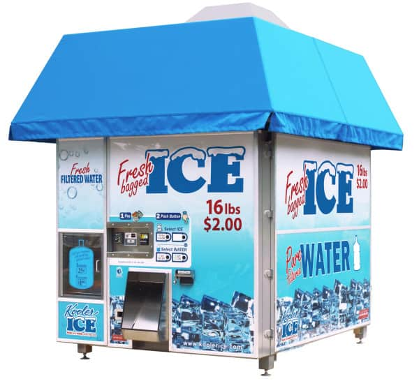 IM2500 Series II Ice Vending Machine