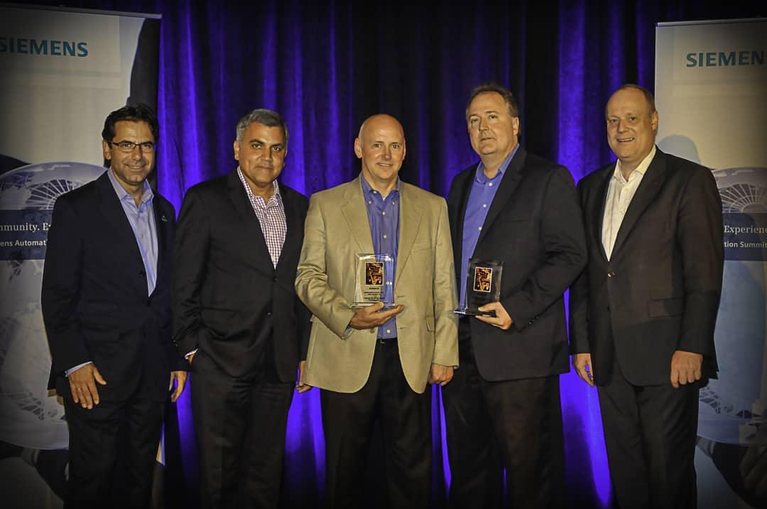 Siemens Customer Excellence Award Press Release