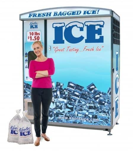 ice vending machine, ice vending, ice vending machine business, ice vending business