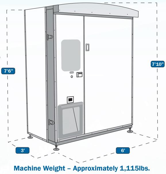 im500 ice vending machine specifications
