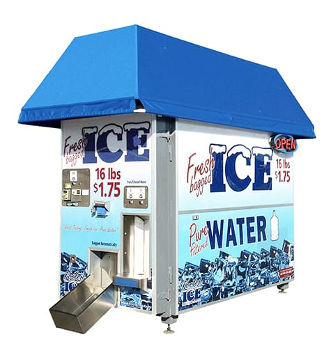 KI810 Ice Vending Machine