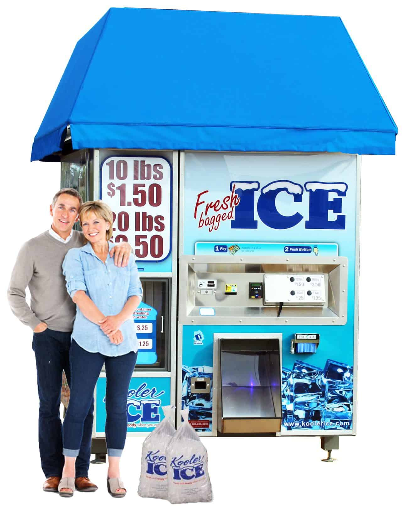 IM1500 Ice Vending Machine
