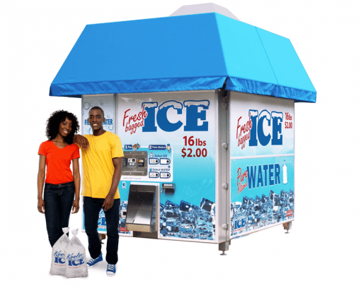 Kooler Ice Vending Machines – Products