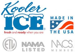 Kooler Ice Made in the USA and Associations