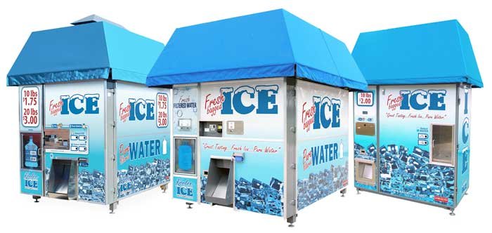 Kooler Ice and Water Vending Machines
